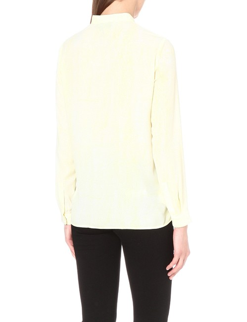 The Kooples Top Yellow/White Image 4