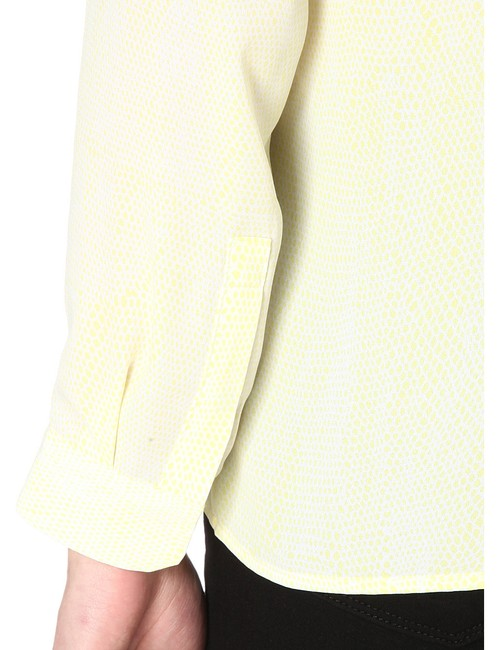 The Kooples Top Yellow/White Image 5
