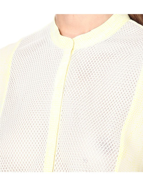 The Kooples Top Yellow/White Image 6