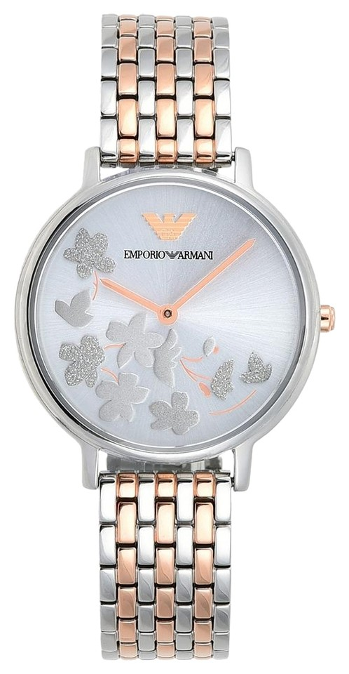 9c53770dfb1be Emporio Armani Emporio Armani Kappa Rose Gold Dial Bracelet 32mm Women's  Watch Image 0 ...