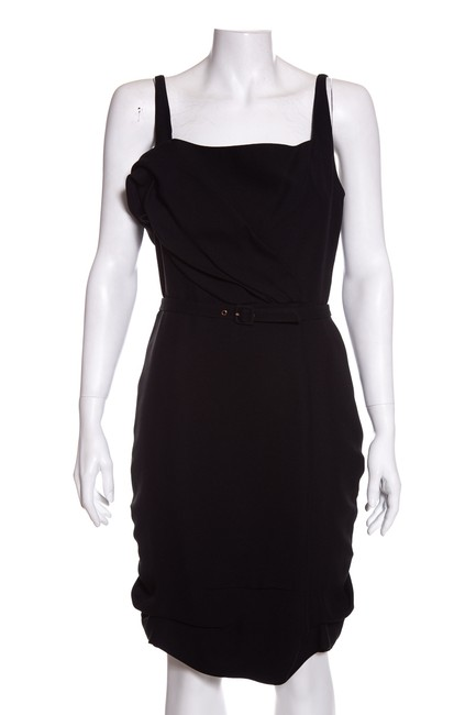 Preload https://img-static.tradesy.com/item/24633837/thierry-mugler-black-42-mid-length-cocktail-dress-size-10-m-0-0-650-650.jpg