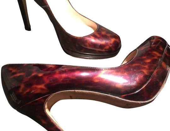 L.K. Bennett Chic Patent Leather Classic tortoise shell Pumps Image 0