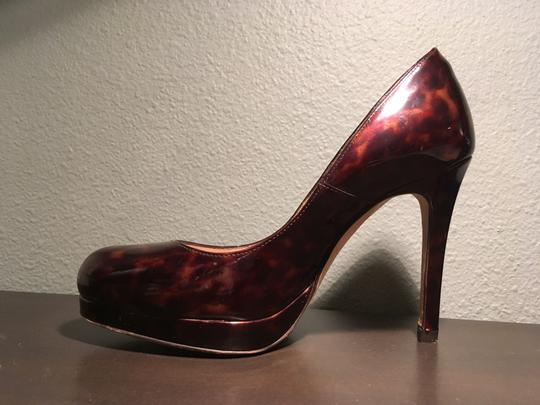 L.K. Bennett Chic Patent Leather Classic tortoise shell Pumps Image 2