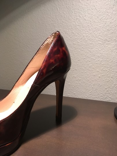 L.K. Bennett Chic Patent Leather Classic tortoise shell Pumps Image 6