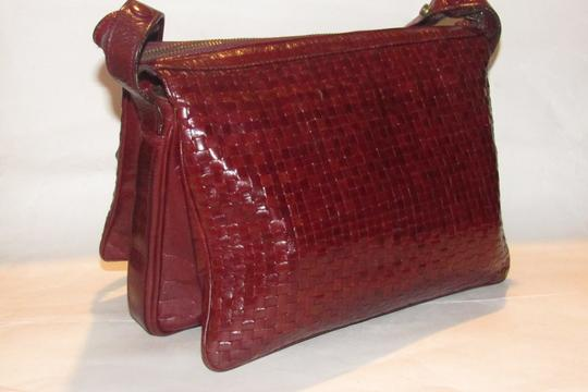 Fendi Mint Vintage Multiple Compartment Rare Style Early Sas Shoulder Bag Image 1