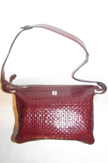 Fendi Mint Vintage Multiple Compartment Rare Style Early Sas Shoulder Bag Image 4