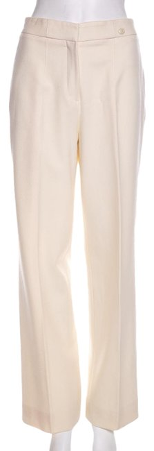 Chanel Cream 40 Pants Size 8 (M, 29, 30) Chanel Cream 40 Pants Size 8 (M, 29, 30) Image 1