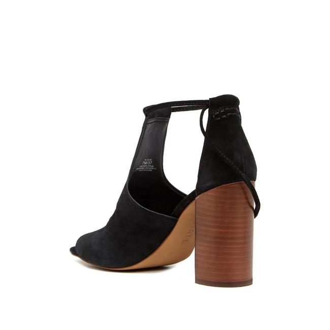 Item - Black -- Tilya Suede Heel Sandals Size US 8.5 Regular (M, B)