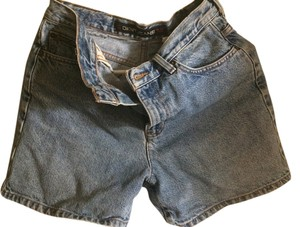 DKNY Short Mini/Short Shorts Blue Denim