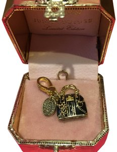 Juicy Couture NEW!! JUICY COUTURE 2008 LIMITED EDITION by NEIMAN MARCUS BROWN & GOLD EQUESTRIAN HANDBAG CHARM.