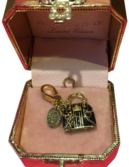 Preload https://img-static.tradesy.com/item/24633947/juicy-couture-brown-new-2008-limited-edition-by-neiman-marcus-and-gold-equestrian-handbag-charm-0-1-540-540.jpg