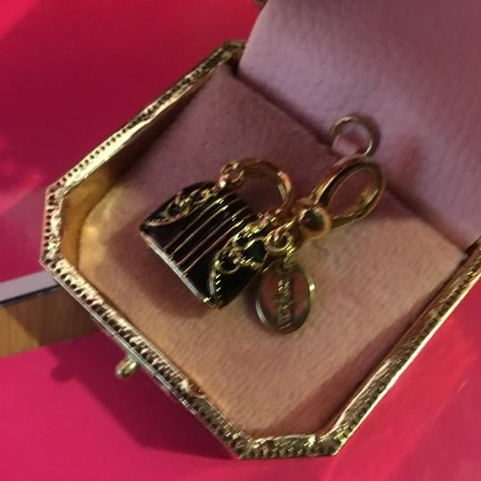 Juicy Couture NEW!! JUICY COUTURE 2008 LIMITED EDITION by NEIMAN MARCUS BROWN & GOLD EQUESTRIAN HANDBAG CHARM. Image 3
