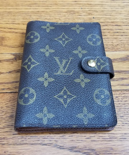 Louis Vuitton Louis Vuitton Monogram Canvas Agenda PM Image 1