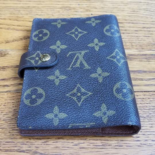 Louis Vuitton Louis Vuitton Monogram Canvas Agenda PM Image 4