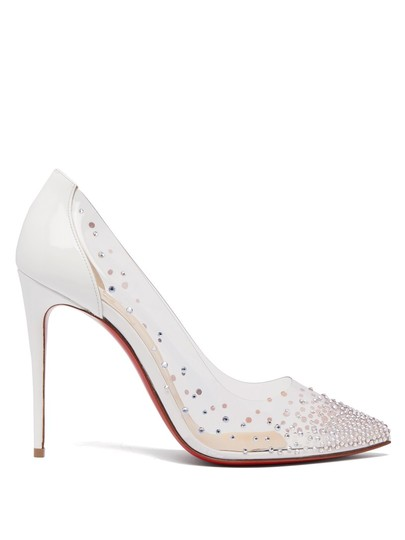 Preload https://img-static.tradesy.com/item/24633962/christian-louboutin-white-degrastrass-100-crystal-embellished-pumps-size-eu-42-approx-us-12-regular-0-0-540-540.jpg