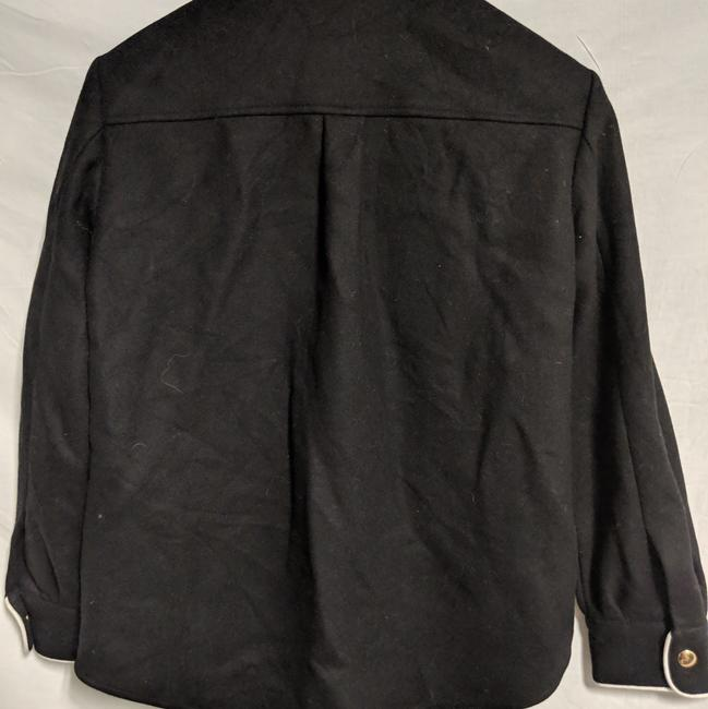 Moschino Wester Style Button Down Shirt Black white trim Image 3