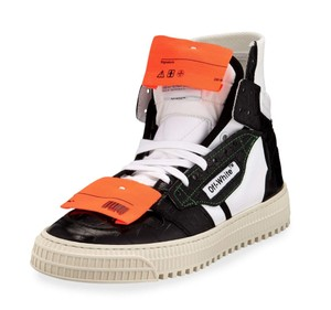 Off-White™ Crocodile White Sneakers Orange Yeezy Sock black Athletic