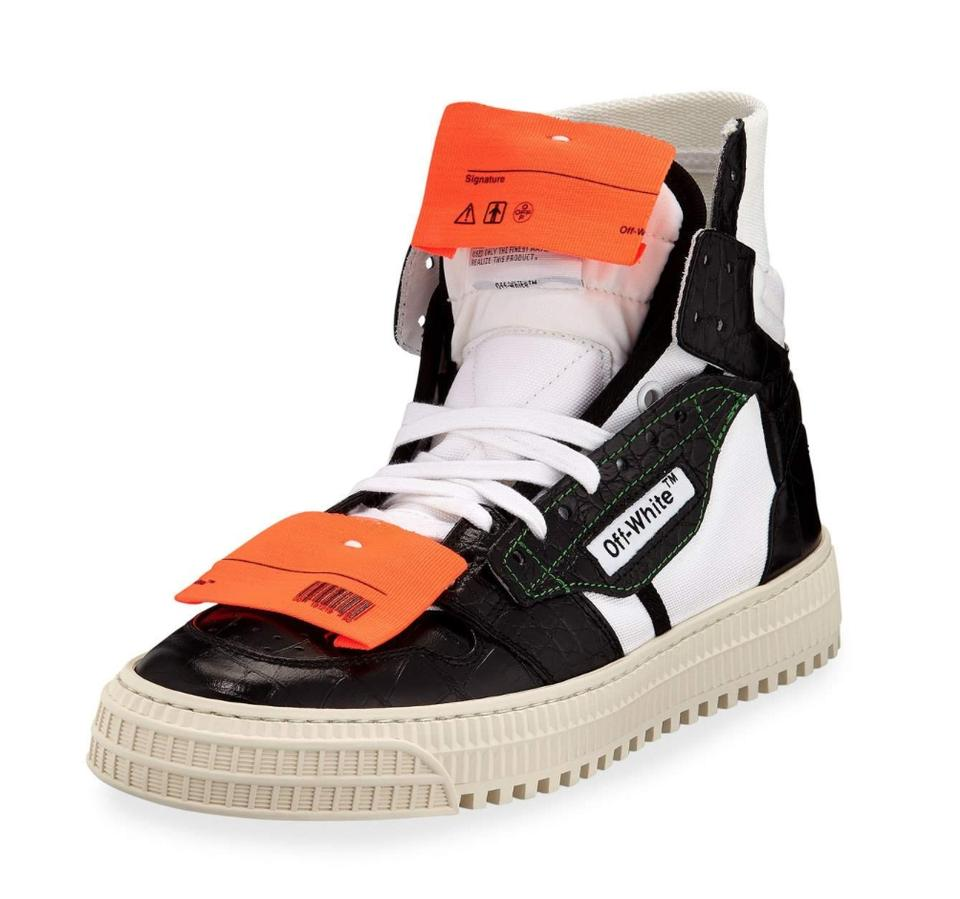 Off-White™ Black Off-white Low 3.0 Leather Platform High-top Sneakers  Sneakers 5a2ffdc604