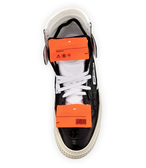 Off-White Crocodile White Sneakers Orange Yeezy Sock black Athletic Image 2