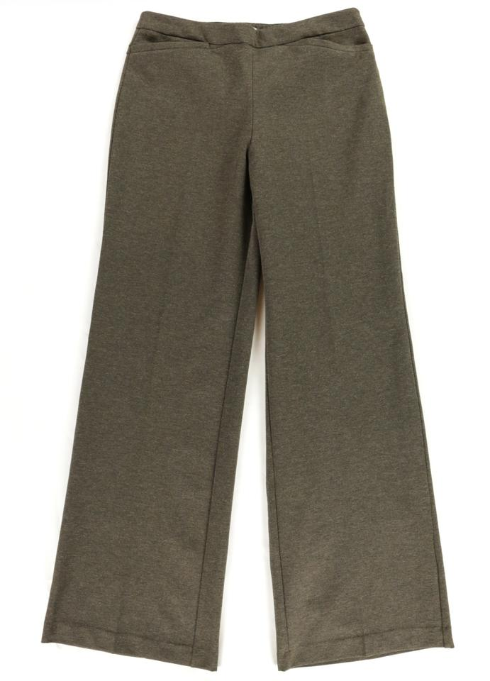 09507d98 New York & Company Brown Soft Stretchy Medium-tall Trouser Pants Size 10  (M, 31) 66% off retail