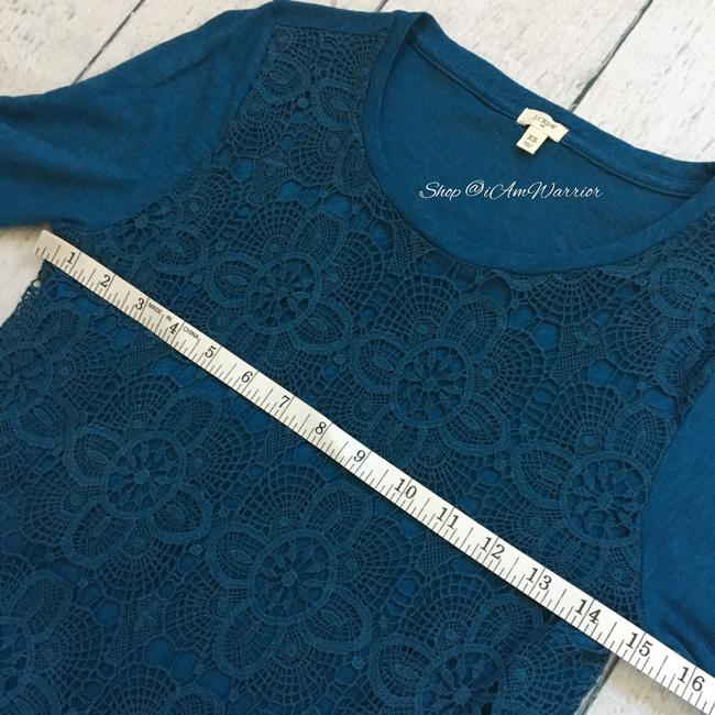 J.Crew T Shirt Teal/peacock blue Image 5