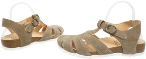 Think Flats Size 9 Brown Sandals