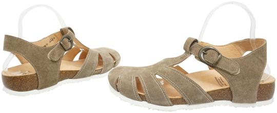 Think Flats Size 9 Brown Sandals Image 0