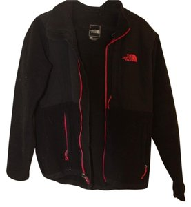 The North Face black and pink Jacket