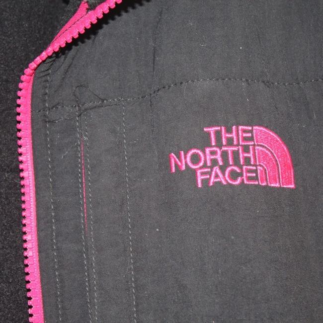 The North Face black and pink Jacket Image 2
