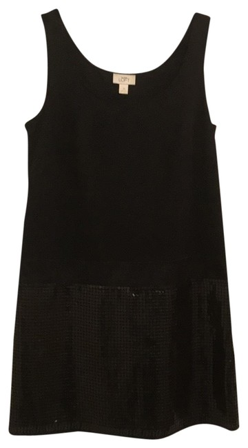 Preload https://img-static.tradesy.com/item/24634077/ann-taylor-loft-black-id8634a-mid-length-night-out-dress-size-12-l-0-1-650-650.jpg
