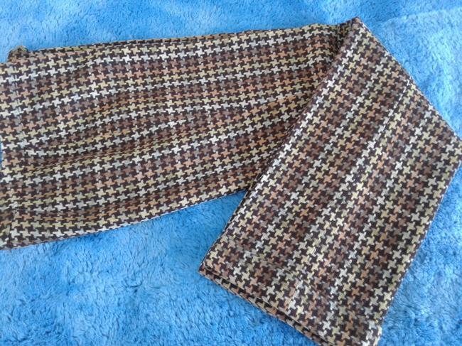 David Meister Wool Fully Lined Superb Fit Made In Korea Trouser Pants plaid Image 1