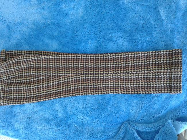 David Meister Wool Fully Lined Superb Fit Made In Korea Trouser Pants plaid Image 2