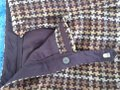 David Meister Wool Fully Lined Superb Fit Made In Korea Trouser Pants plaid Image 4
