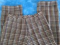 David Meister Wool Fully Lined Superb Fit Made In Korea Trouser Pants plaid Image 6