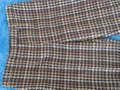 David Meister Wool Fully Lined Superb Fit Made In Korea Trouser Pants plaid Image 8