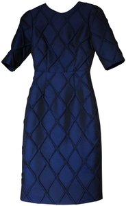 Camilla and Marc Jacquard Cut Out Sleeved Dress