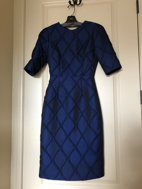 Camilla and Marc Jacquard Cut Out Sleeved Dress Image 1