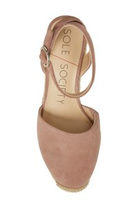 Sole Society dusty rose Sandals