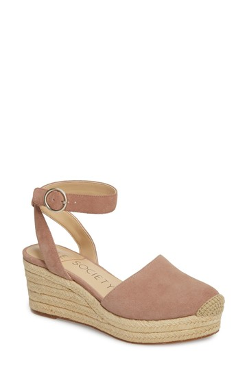 Sole Society dusty rose Sandals Image 2