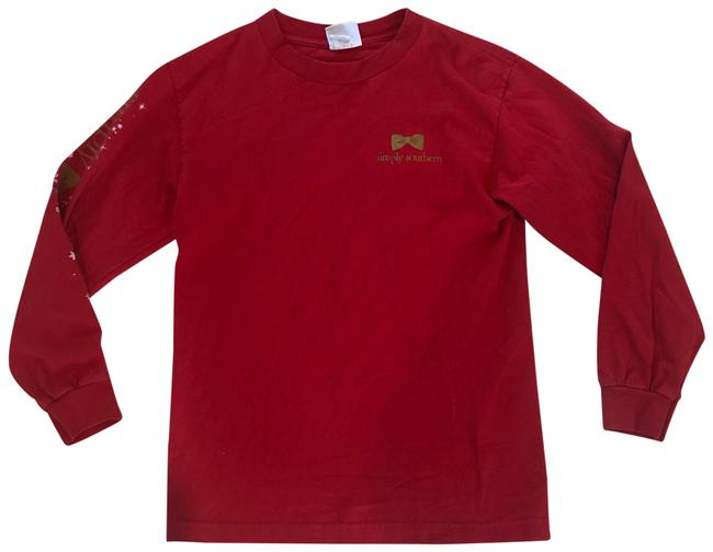 Preload https://img-static.tradesy.com/item/24634200/red-and-gold-tis-the-season-holiday-longsleeve-tee-shirt-size-4-s-0-1-650-650.jpg