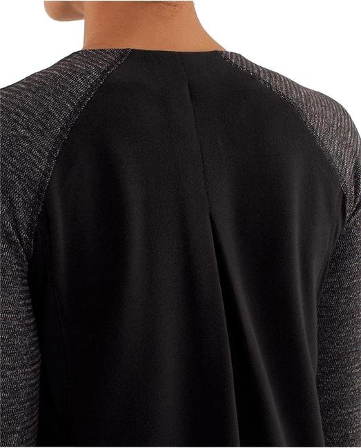 Item - Black Bold In The Cold Activewear Top Size 4 (S)
