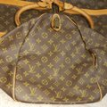 Louis Vuitton Keepall Bandouliere Monogram Large Brown Travel Bag Image 11