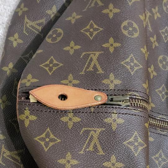 Louis Vuitton Keepall Bandouliere Monogram Large Brown Travel Bag Image 4