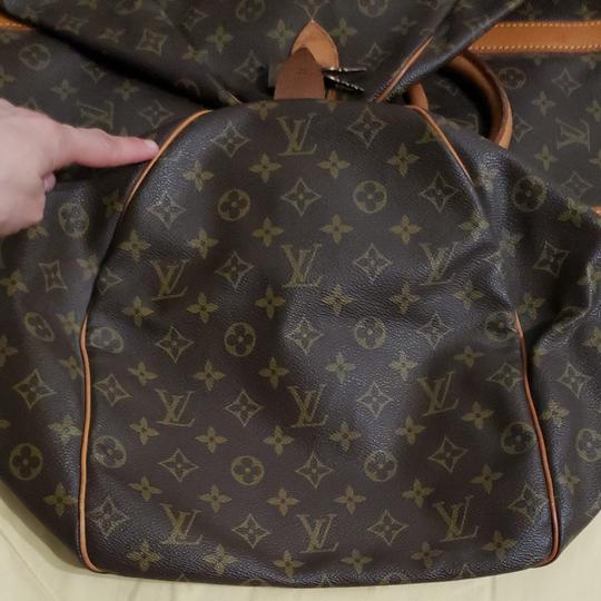 Louis Vuitton Keepall Bandouliere Monogram Large Brown Travel Bag Image 8