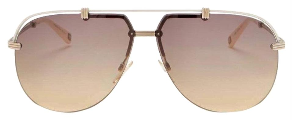 787bddb3ff62 Dior Light Gold Aviator Sunglasses - Tradesy