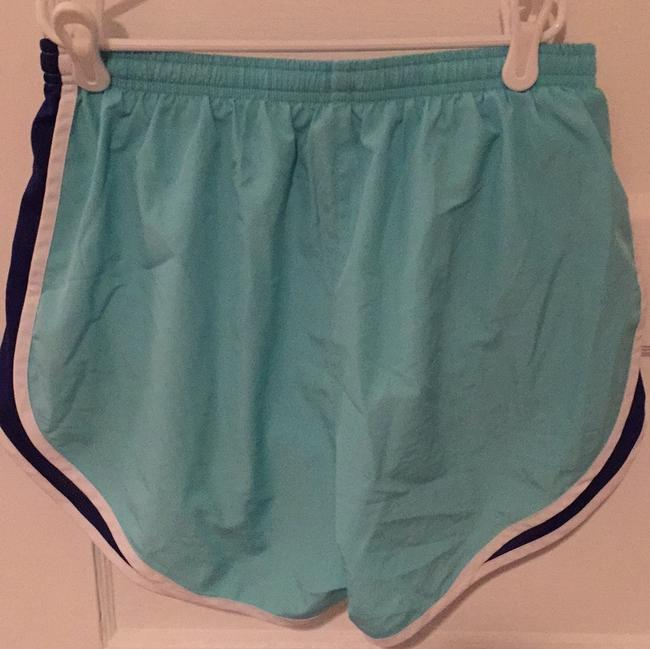 Nike Light blue with royal blue sides and white trim Shorts Image 1