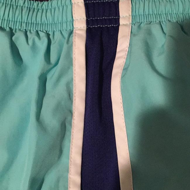 Nike Light blue with royal blue sides and white trim Shorts Image 3