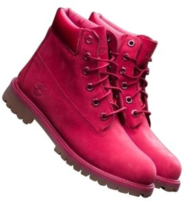 Timberland Rose Red Boots