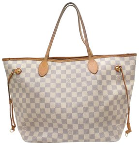 Louis Vuitton Neverfill Neverfold Neverfull Cream Neverfull Ivory Neverfull Tote in White