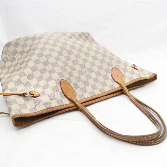 Louis Vuitton Neverfill Neverfold Neverfull Cream Neverfull Ivory Neverfull Tote in White Image 4